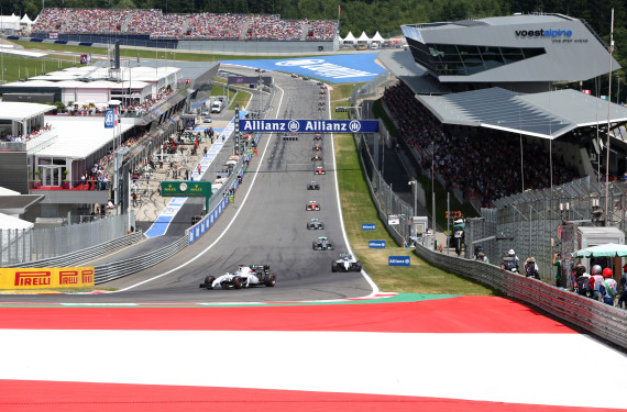Comeback der Formel 1 am Red Bull Ring © GEPA Pictures/Red Bull Content Pool